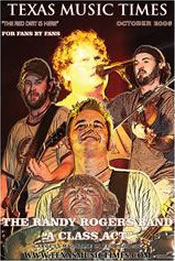 Texas Music Times - October 2006 - Randy Rogers Band