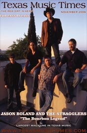 Texas Music Times - November 2006 -  Jason Boland and the Stragglers