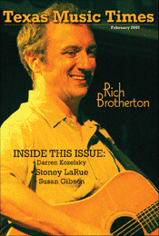Texas Music Times - February 2007 - Rich Brotherton