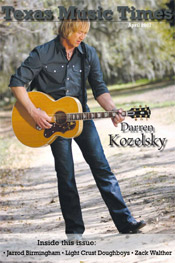 Texas Music Times - March 2007 - Darren Kozelsky